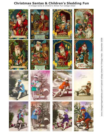 Vintage Indie Special Collage Sheet - Dec08 copy