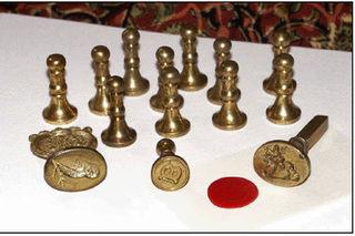 Vintage Brass Seals