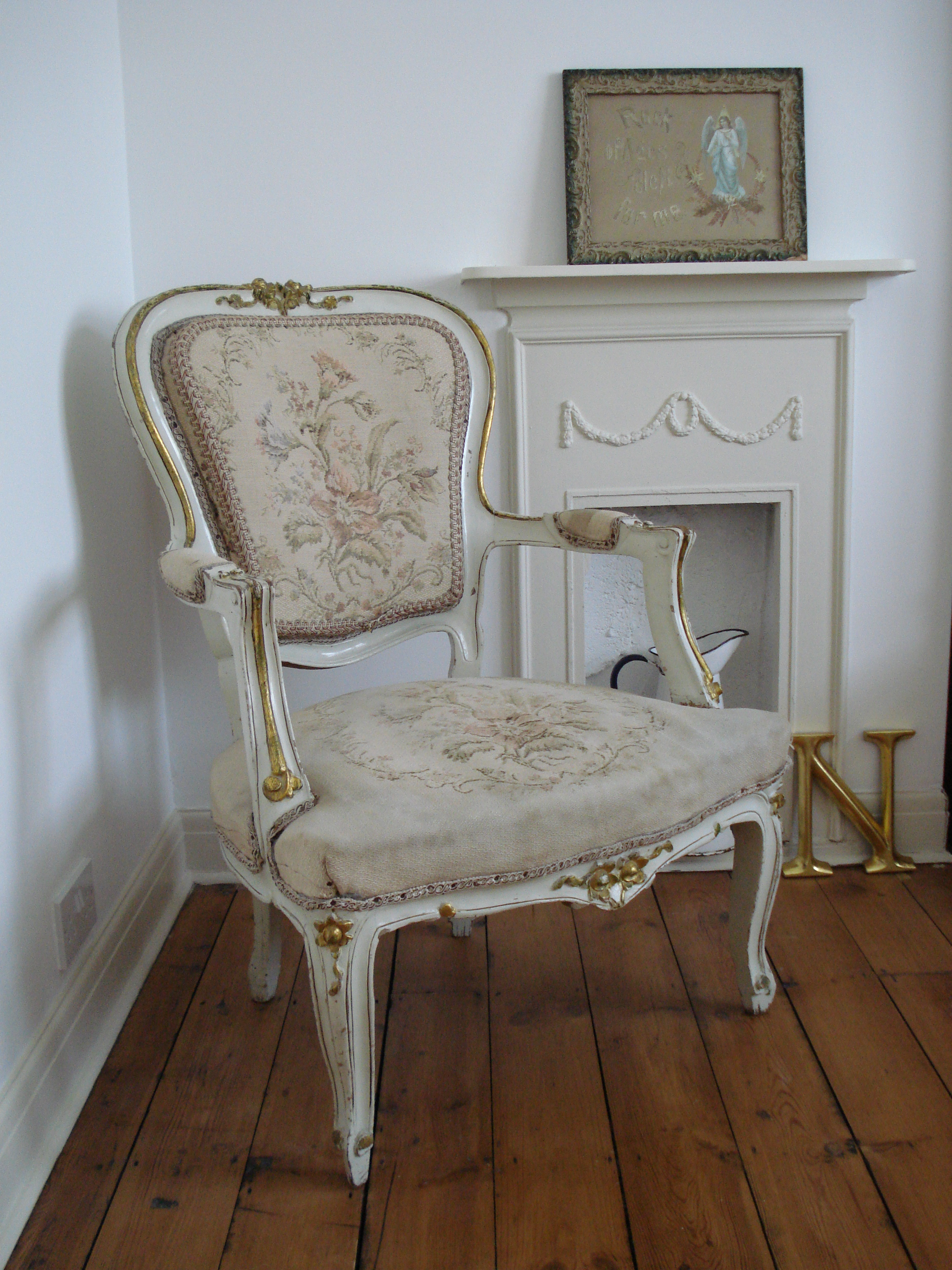 Antique french chair - My Antique French Chair And Vintage Indie My Vintage Pad Home Tour Natasha D From Oxford