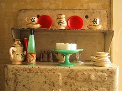 Vintage Triang Dolls House Christmas