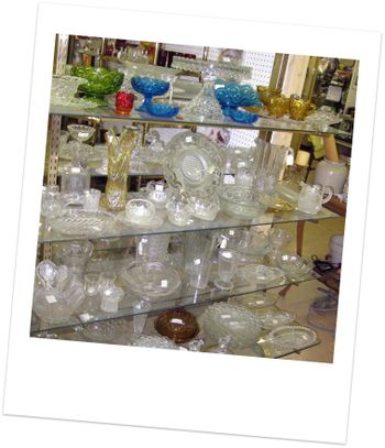 Shadeland Glass Display