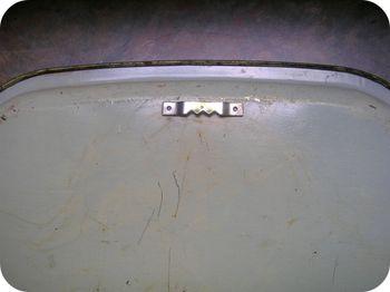 Vintage Metal Tray Hanger