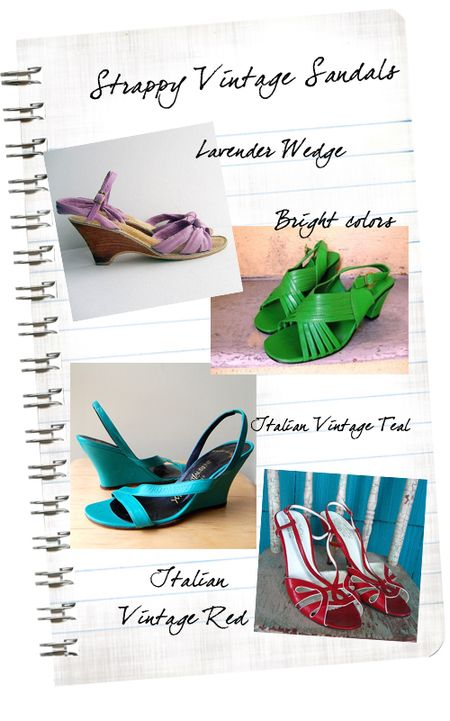 Vintage Love Notes_Strappy Sandals2