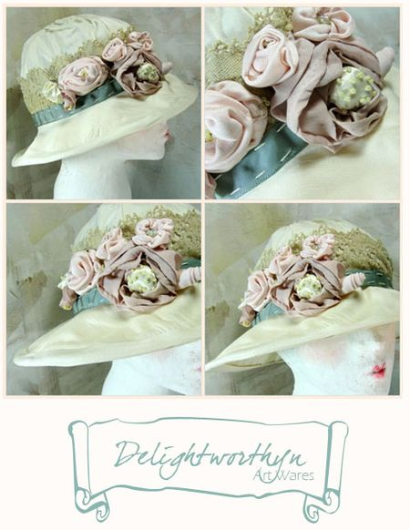 Vintage Crush_Bridal Hat