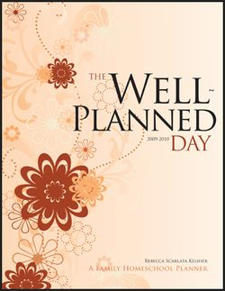 TheWellPlannedDay_Review