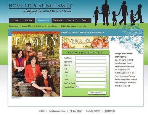 HomeEducatingMagazineGiveaway