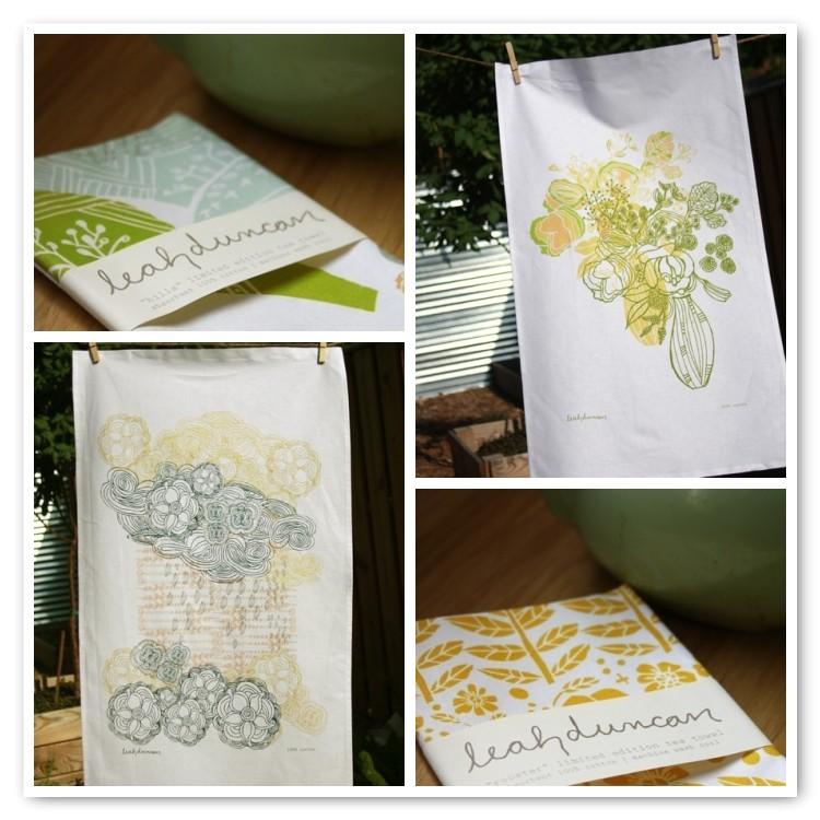 Click to Shop Leah Duncan's Tea Towels
