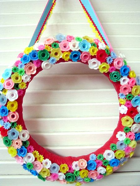 Candle Holder Wreath 1