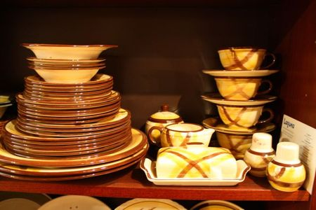 Plaid Pottery