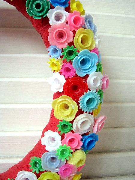 Candle Holder Wreath 2