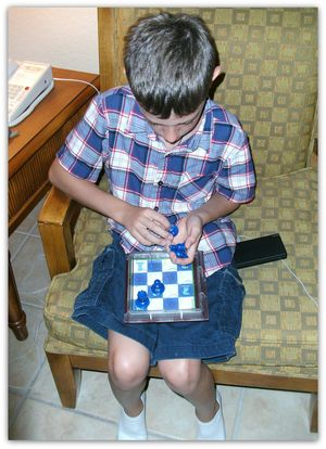 Solitaire Chess 1