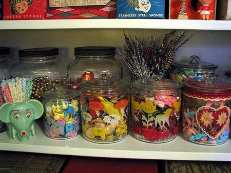 Storage glass containers 2