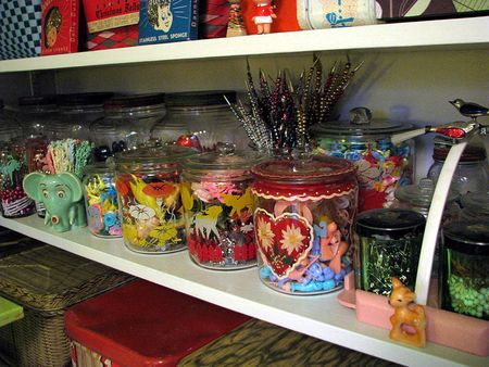 Storage glass containers 1