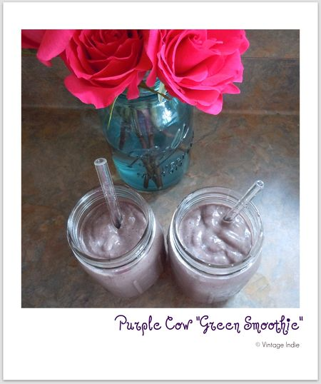 Purple Cow Green Smoothie