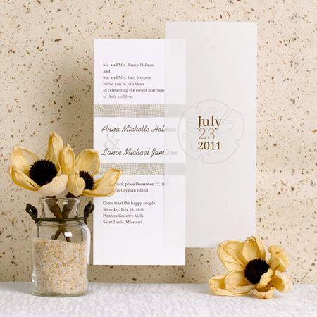 Tealength Wedding Invitations