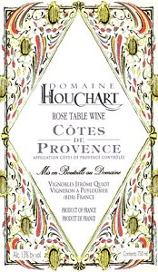 Houchart_rose_label