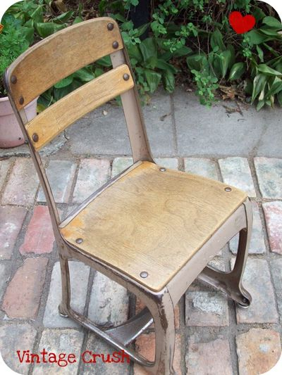 Vintage School Chair