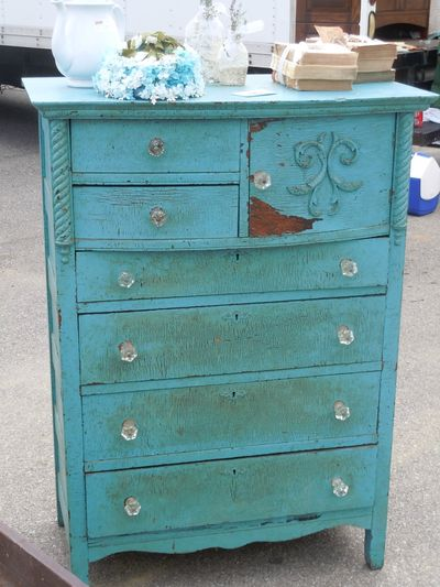 Burlington Antique Show Dresser