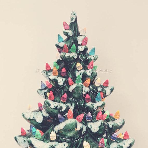 Grow Me Christmas Tree: Vintage Indie: Show & Tell Christmas Trees