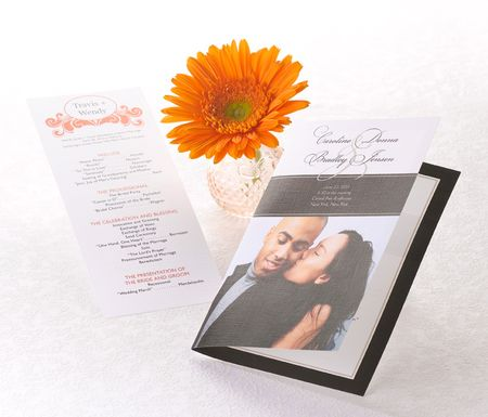 Wedding Programs are beautiful practical but are they necessary