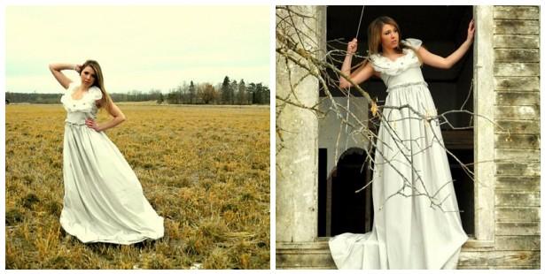 Vintage Indie: Indie Alternative Gowns: Romantic Wedding Gown by ...