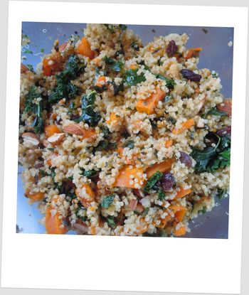 Quinoa Kale Butternut Squash