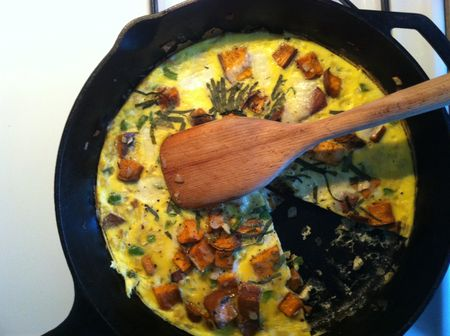 Sweet Potato Frittata_2