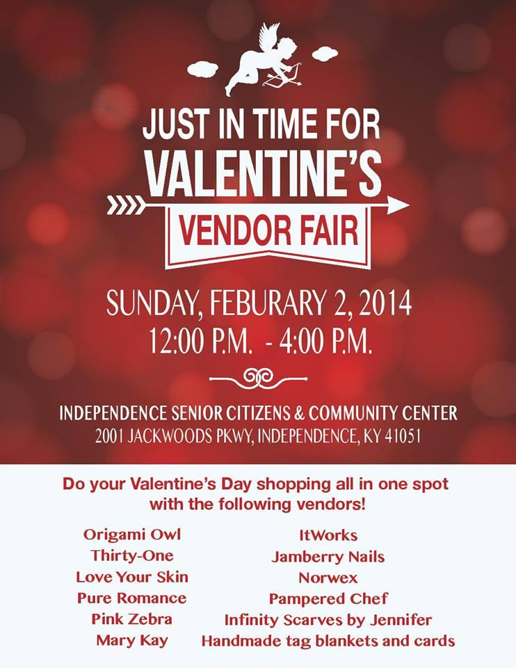Valentine's Day Vendor Fair