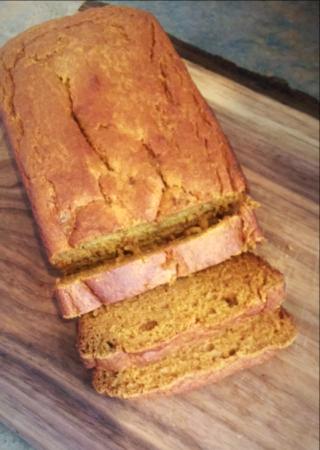 Einkorn Pumpkin Bread