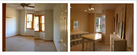 Before and After Office Design