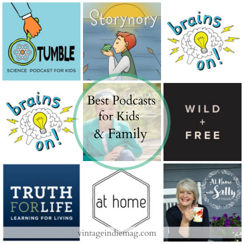 FavoritePodcastsForKidsandFamily