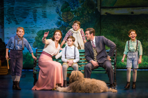 The Cast of the National Tour of Finding Neverland Credit Jeremy Daniel_0326