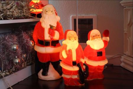 Vintage Home Tour Santa