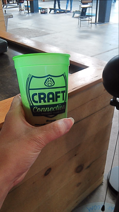 Craft Connection Brewery Tour Cup