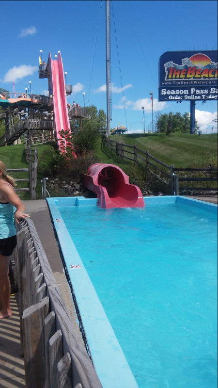 The Cliff at the Beach Waterpark