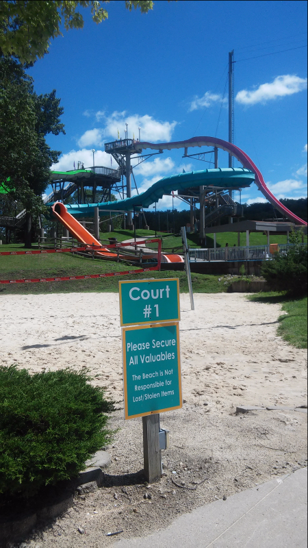 Volleyball Court The Beach Waterpark