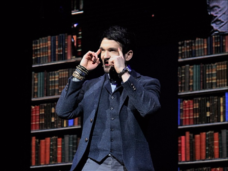 Colin Cloud (The Deductionist) in The Illusionists—Live From Broadway