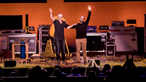Brain Candy Live 1 - Adam Savage and Michael Stevens