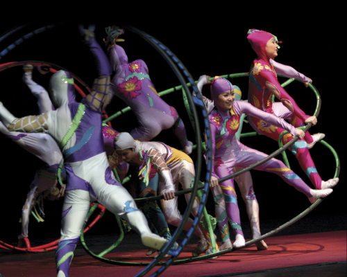 Golden Dragon Acrobats - Color-Wheels