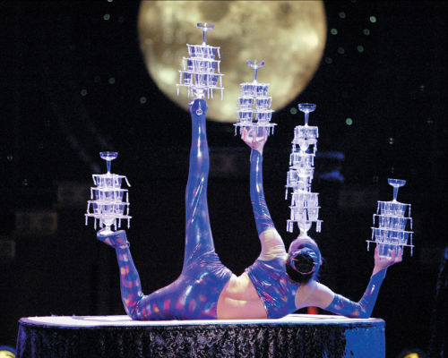 Golden Dragon Acrobats - Contortion Glasses