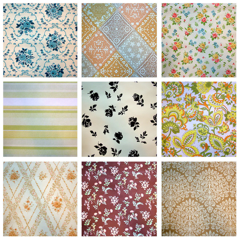A Crafty Little Giveaway (Vintage Wallpaper) - Sponsored by Moxie Photo and