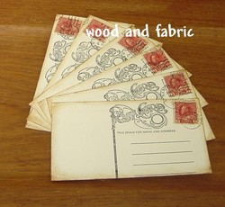 Woodandfabric_postcards